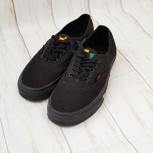 Van's The Authintic Sneaker, Black with Ties